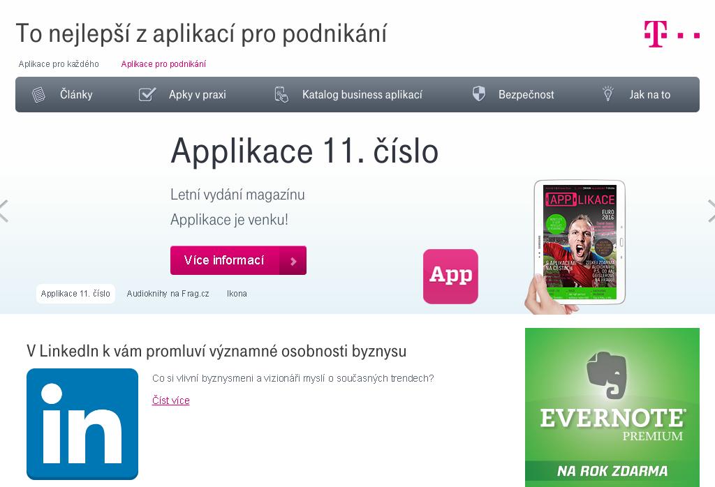 Logo B2BApps.T-Mobile.cz