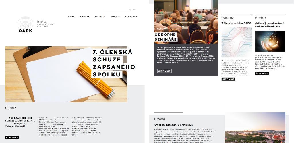 Web CAEK.cz