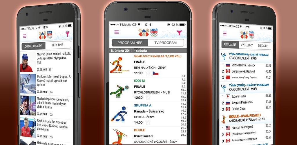Aplikace ZOH Sochi 2014