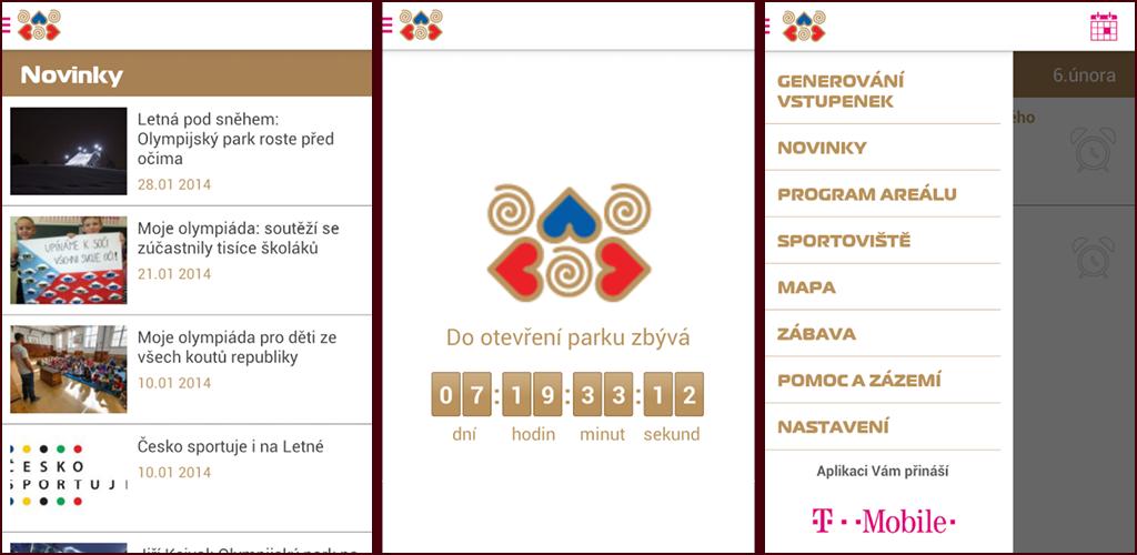 Aplikace Park Letná 2014