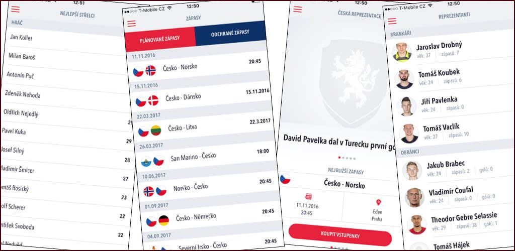 Aplikace Česká Repre